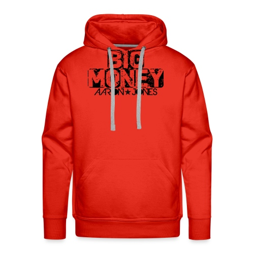 Big Money aaron jones - Felpa con cappuccio premium da uomo