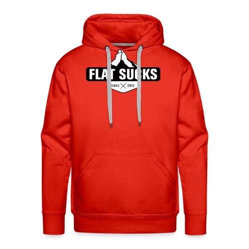 FlatSucks - Sweat-shirt à capuche Premium pour hommes