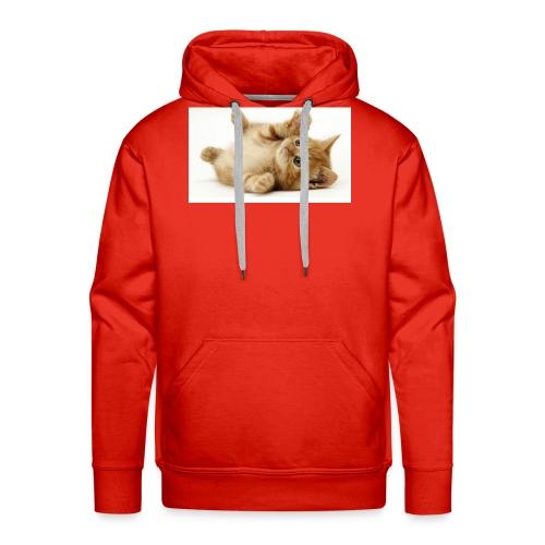 CAT - Sudadera con capucha premium para hombre