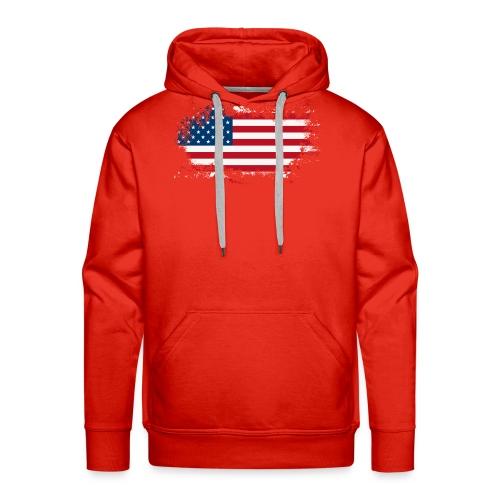 America - Mannen Premium hoodie