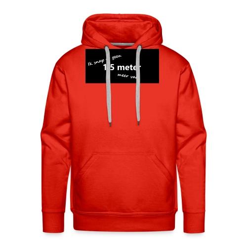 snap - Mannen Premium hoodie