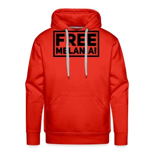 free melania! - Männer Premium Hoodie