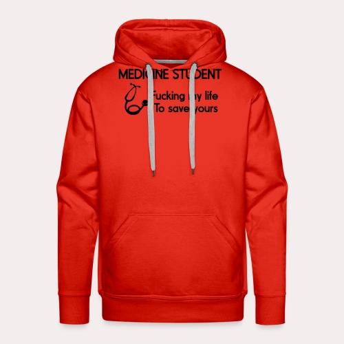 Medicine Student - Sweat-shirt à capuche Premium pour hommes