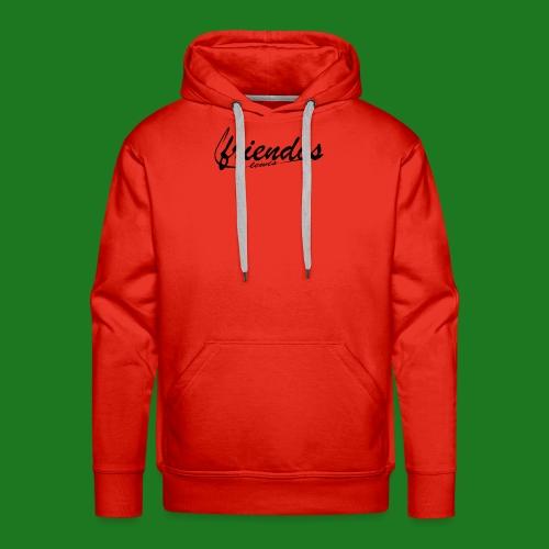 Mannen baseball t-shirt Friendos - Mannen Premium hoodie