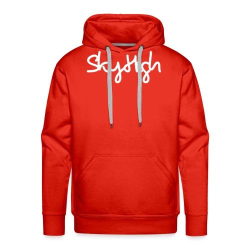 SkyHigh - Snapback - (Printed) White Letters - Men's Premium Hoodie