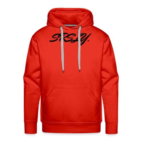 SRSLY - Sweat-shirt à capuche Premium pour hommes