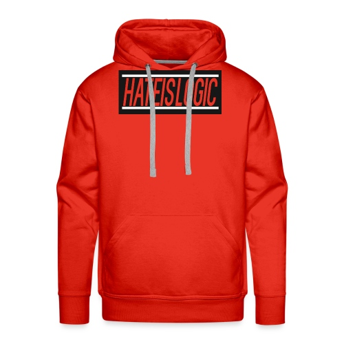 Hateislogic Official Brand - Men's Premium Hoodie