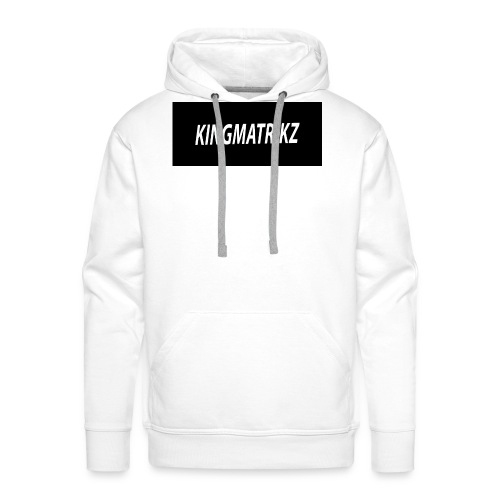 kingmatrikz - Herre Premium hættetrøje
