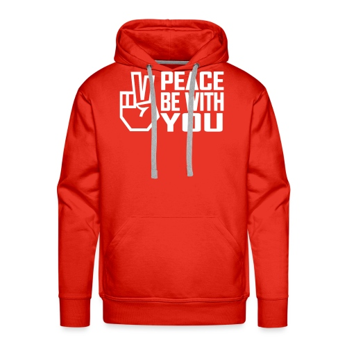 PEACE BE WITH YOU - Men's Premium Hoodie