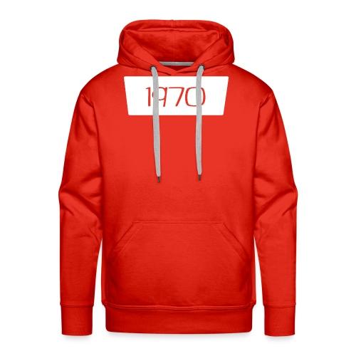 1970 - Mannen Premium hoodie