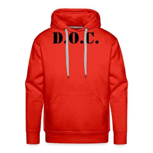 Department of Corrections (D.O.C.) 2 back - Männer Premium Hoodie