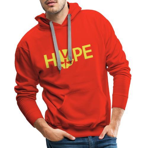 H3PE Danmark hyldest - Herre Premium hættetrøje