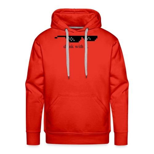 dwi png - Sweat-shirt à capuche Premium pour hommes