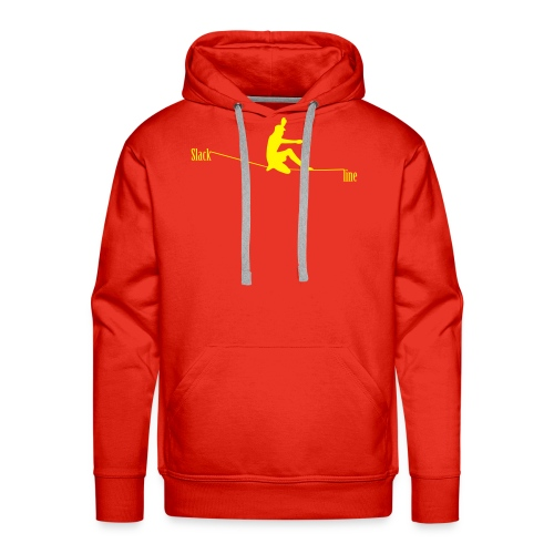 Slackline - Sweat-shirt à capuche Premium pour hommes