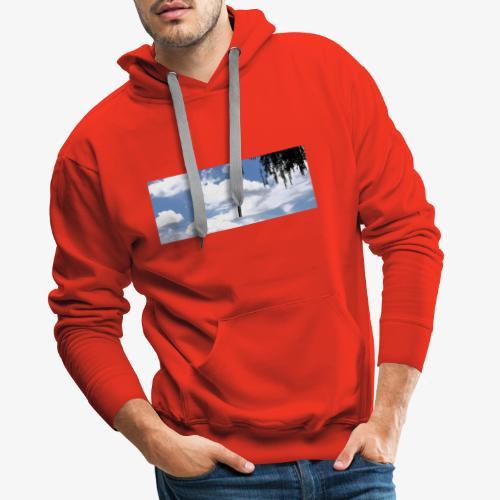 Wolkenlandschaft - Männer Premium Hoodie
