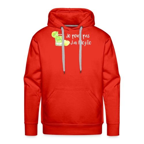 mojito - Sweat-shirt à capuche Premium pour hommes