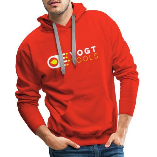 Vogt Tools Logo Neongelb - Männer Premium Hoodie