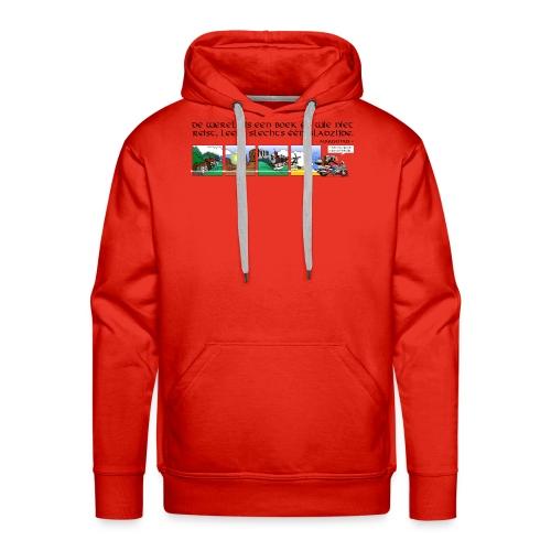 travel NEDERLANDS - Mannen Premium hoodie