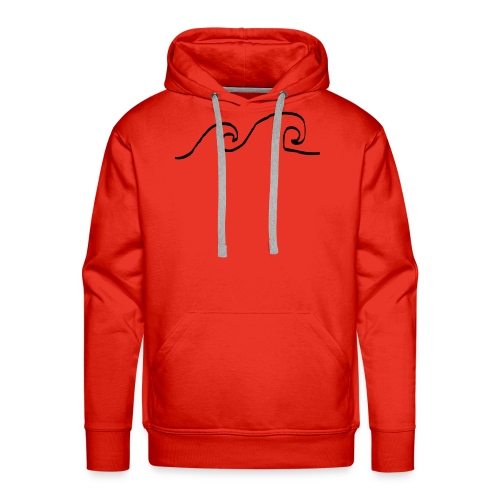 Waves - Mannen Premium hoodie