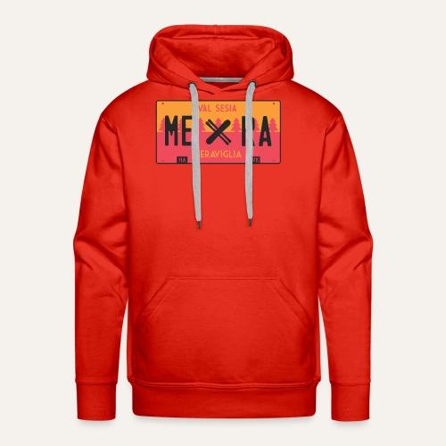 Plates III Mera - Felpa con cappuccio premium da uomo