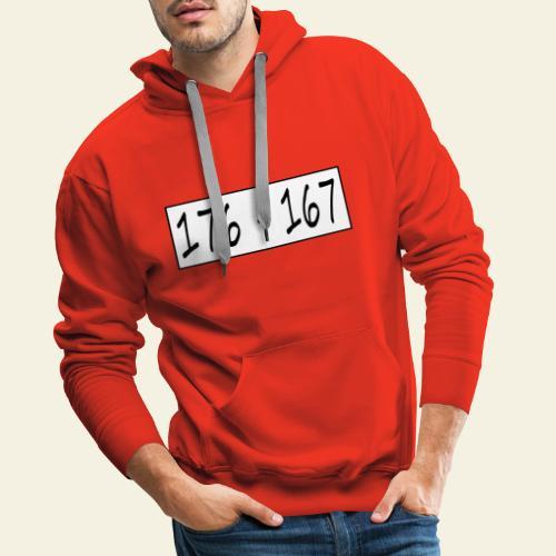 176167 - Herre Premium hættetrøje
