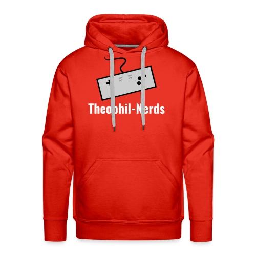Theophil-Nerds Logo - Männer Premium Hoodie