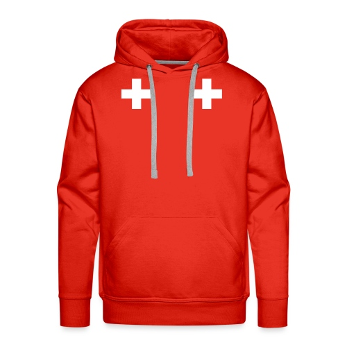 Swiss Boobs - Sweat-shirt à capuche Premium pour hommes