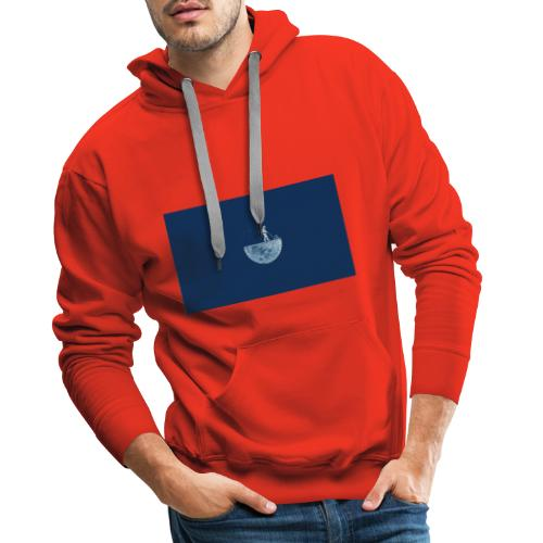 ReachTheMoon - Sudadera con capucha premium para hombre