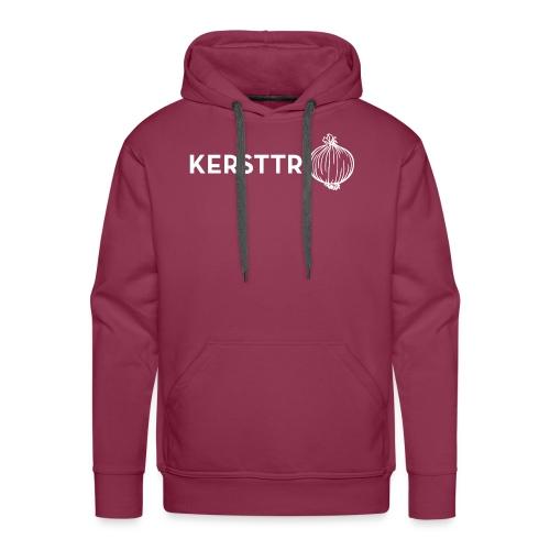 Kersttrui met ui - Mannen Premium hoodie