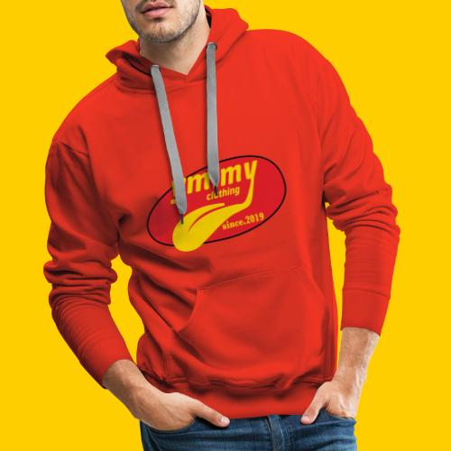 YM.MY clothing LOGO - Men's Premium Hoodie