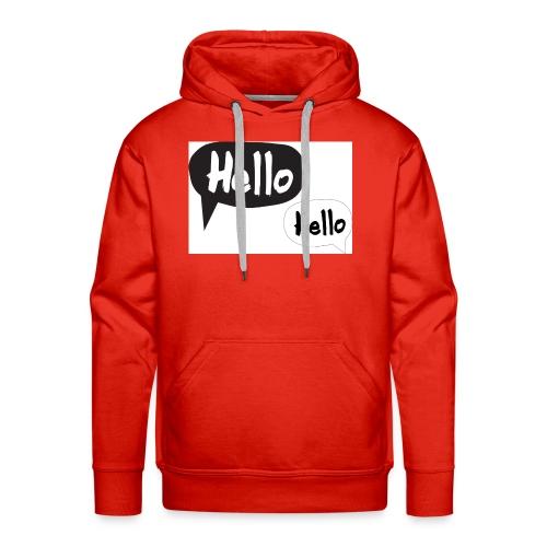 hello Design! Geschenkidee - Männer Premium Hoodie