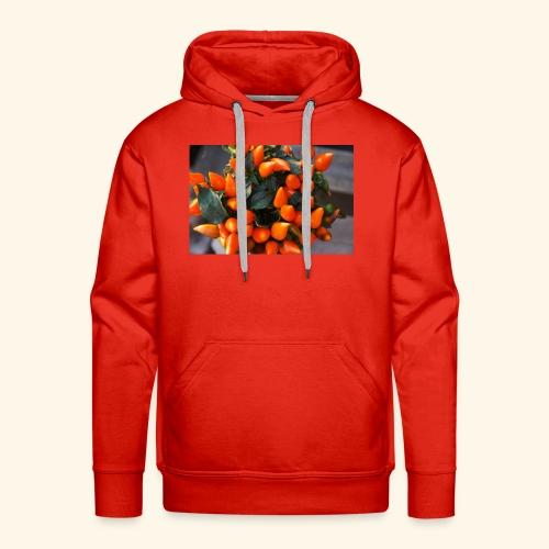 chili orange - Männer Premium Hoodie