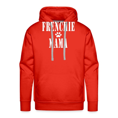 Frenchie Mama - Sweat-shirt à capuche Premium pour hommes
