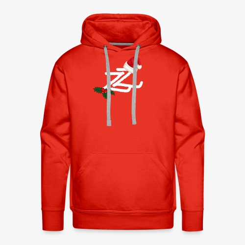 Zip Zap Christmas Merch - Premium hettegenser for menn