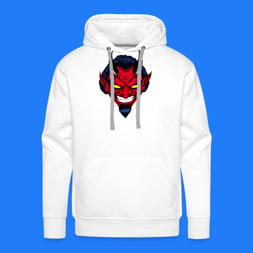 DEMON HEAD by Agill - Sweat-shirt à capuche Premium pour hommes