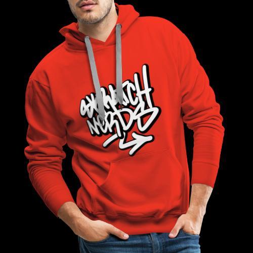 SKRATCH NERDS TAG BLACK 01 copie - Sweat-shirt à capuche Premium pour hommes