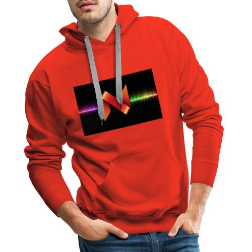 nyru tv 4 - Sweat-shirt à capuche Premium pour hommes