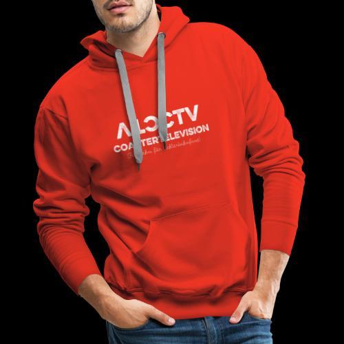 CTV Logo Wihte - Männer Premium Hoodie