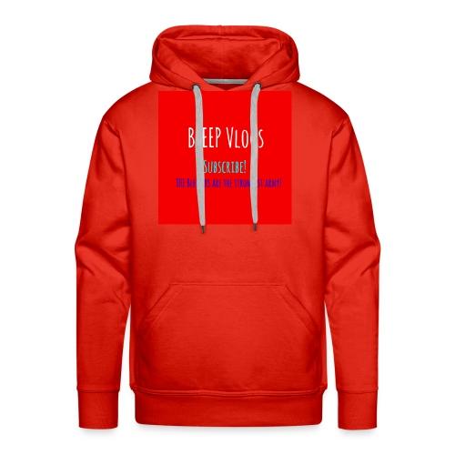 BLEEP Vlogs Limited Design - Men's Premium Hoodie