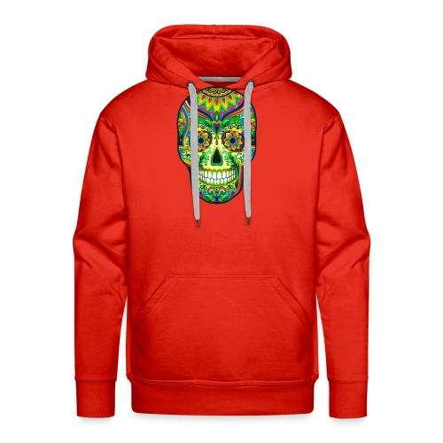 El día de los Muertos Cranes motif - Sweat-shirt à capuche Premium pour hommes