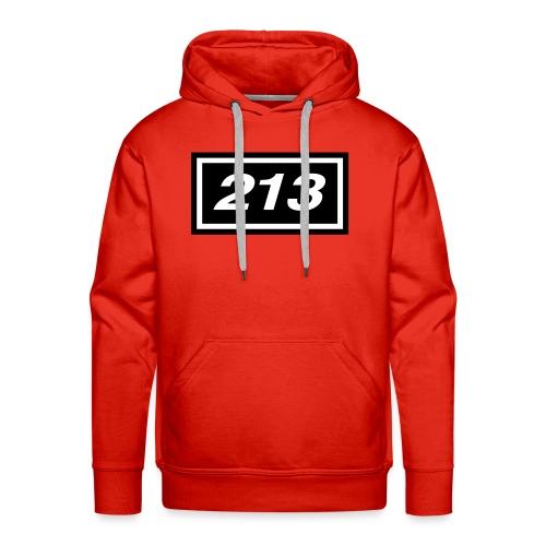 213 Logo - Premiumluvtröja herr