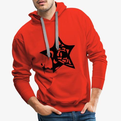 Rapel desde estrella - Star Rappel - Climb - Men's Premium Hoodie