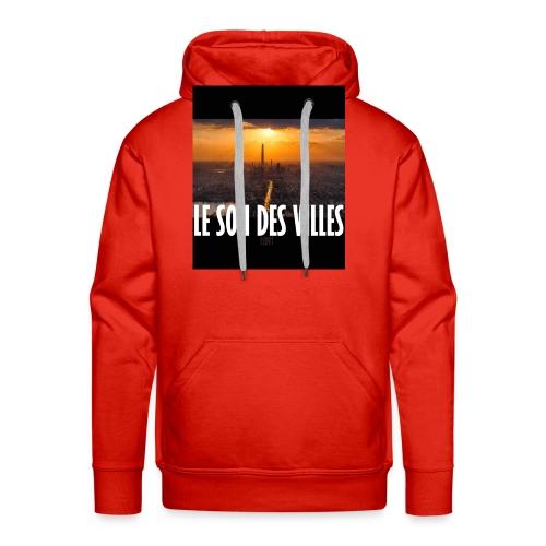 Le Son Des Villes : By night - Sweat-shirt à capuche Premium pour hommes