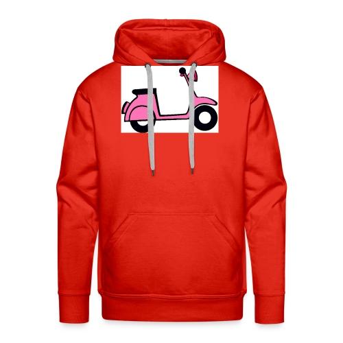 Moto vintage - Sudadera con capucha premium para hombre
