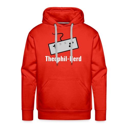 Retro Theophil-Nerd - Männer Premium Hoodie