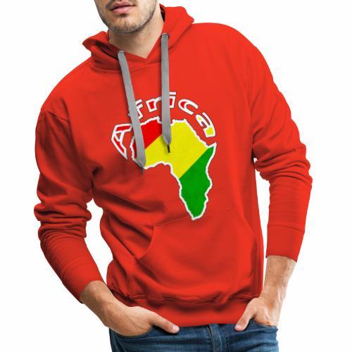 Afrika - rot gold grün - Männer Premium Hoodie