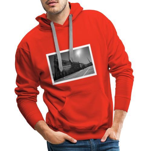Place d'Armes Valenciennes - Sweat-shirt à capuche Premium pour hommes