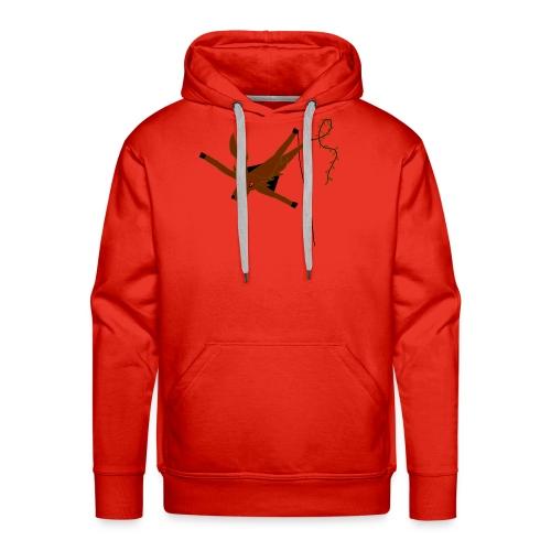 Cerf-Volant - Sweat-shirt à capuche Premium pour hommes