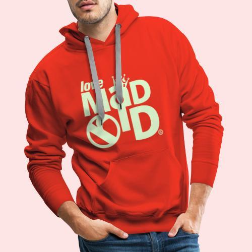 I Love Madrid 2c - Sudadera con capucha premium para hombre