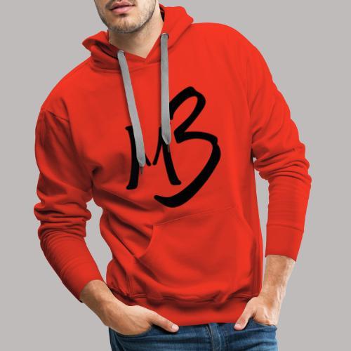 MB13 logo - Men's Premium Hoodie